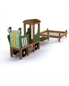 Traktori ja äes