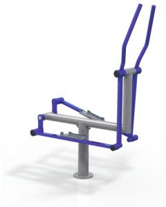 Single cross trainer
