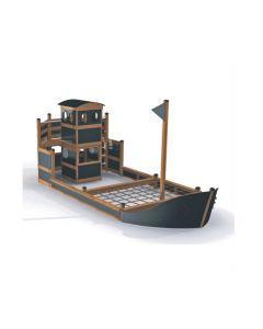 Iso laiva natur