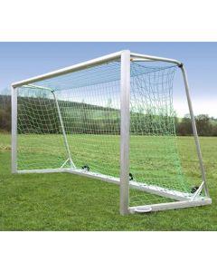Jalkapallomaali 5x2 m, täyshitsattu vastapainolla