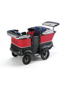 Lapsibussi moottorilla Lux, 4 lapselle