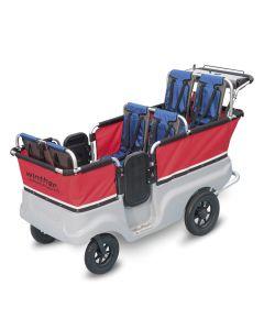 Lapsibussi moottorilla, 6 lapselle