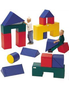 Rakennusosat vaahtomuovia