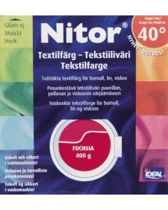 Nitor Tekstiiliväri ja Kiinnitysaineet