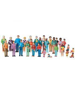 Maailman perheet figuurit 32 kpl