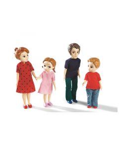 Mini nuket: Tuomaksen ja Marin perhe