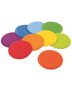 Värikkäät lattiatyynyt 9 kpl