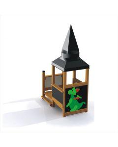 Leikkitalo + pikku lohikäärme
