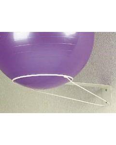 Seinäteline terapiapalloille