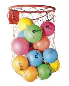 Seinäripustin palloille
