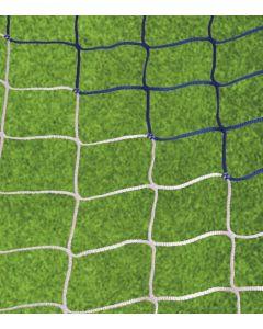 Jalkapalloverkko, sini/valkoinen