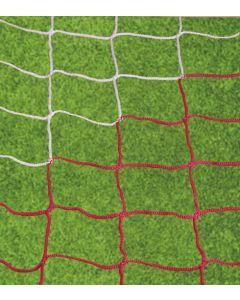 Jalkapalloverkko, puna/valkoinen