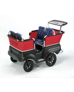 Lapsibussi moottorilla, 4 lapselle
