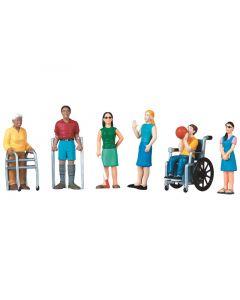 Figuurit: Vammautuneet -hahmot