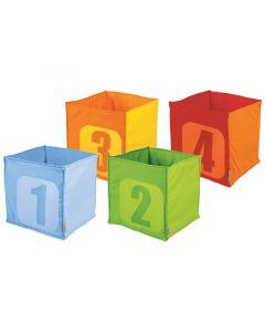 Pehmeä laatikko numeroilla