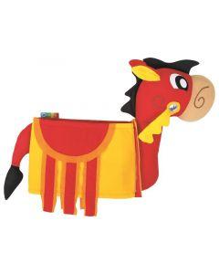 3D puku - Lancelotin hevonen