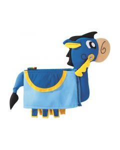 3D puku - Ivanhoen hevonen