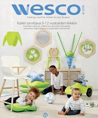 Wesco päiväkotivälineet, kalusteet ja lelut